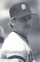 spo070408 - Mike Laga Base Ball Postcard Detroit Tigers Baseball Postcard Post Card