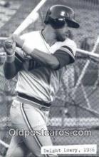 spo070409 - Dwight Lowry Base Ball Postcard Detroit Tigers Baseball Postcard Post Card