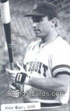 spo070411 - Mike Laga Base Ball Postcard Detroit Tigers Baseball Postcard Post Card