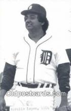 spo070415 - Aurelio Lopez Base Ball Postcard Detroit Tigers Baseball Postcard Post Card