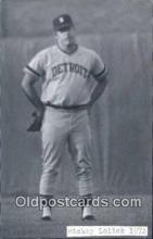 spo070417 - Mickey Lolich Base Ball Postcard Detroit Tigers Baseball Postcard Post Card
