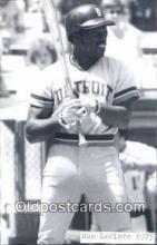 spo070418 - Ron LeFlore Base Ball Postcard Detroit Tigers Baseball Postcard Post Card