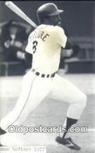 spo070420 - Ron LeFlore Base Ball Non Postcard Detroit Tigers Baseball Postcard Post Card