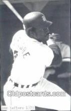 spo070421 - Ron LeFlore Base Ball Postcard Detroit Tigers Baseball Postcard Post Card