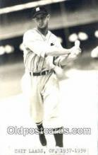 spo070422 - Chet Laabs Base Ball Postcard Detroit Tigers Baseball Postcard Post Card