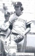 spo070425 - Lerrin LaGrow Base Ball Postcard Detroit Tigers Baseball Postcard Post Card