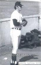 spo070427 - Lerrin LaGrow Base Ball Postcard Detroit Tigers Baseball Postcard Post Card