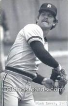 spo070429 - Rick Leach Base Ball Postcard Detroit Tigers Baseball Postcard Post Card