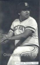 spo070430 - Aurelio Lopez Base Ball Non Postcard Detroit Tigers Baseball Postcard Post Card