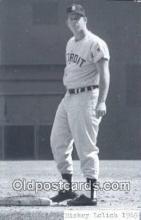 spo070434 - Mickey Lolich Base Ball Postcard Detroit Tigers Baseball Postcard Post Card