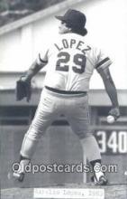 spo070437 - Aurelio Lopez Base Ball Postcard Detroit Tigers Baseball Postcard Post Card