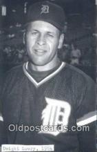 spo070438 - Dwight Lowry Base Ball Postcard Detroit Tigers Baseball Postcard Post Card