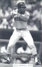 spo070442 - Chet Lemon Base Ball Postcard Detroit Tigers Baseball Postcard Post Card