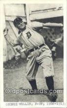 spo070444 - George Mullin Base Ball Postcard Detroit Tigers Baseball Postcard Post Card