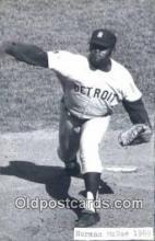 spo070446 - Norman McRae Base Ball Postcard Detroit Tigers Baseball Postcard Post Card