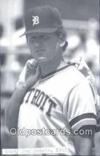 spo070449 - Gory Mac Kenzie Base Ball Postcard Detroit Tigers Baseball Postcard Post Card