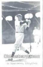 spo070451 - Ed Mierkowicz Base Ball Postcard Detroit Tigers Baseball Postcard Post Card
