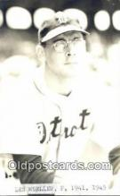 spo070452 - Les Mueller Base Ball Postcard Detroit Tigers Baseball Postcard Post Card