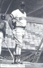 spo070453 - Billy Muffett Base Ball Postcard Detroit Tigers Baseball Postcard Post Card