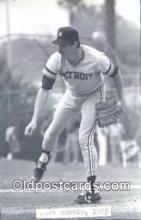 spo070463 - Jack Morris Base Ball Postcard Detroit Tigers Baseball Postcard Post Card