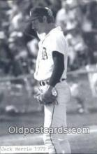 spo070464 - Jack Morris Base Ball Postcard Detroit Tigers Baseball Postcard Post Card
