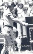 spo070467 - Dan Meyer Base Ball Postcard Detroit Tigers Baseball Postcard Post Card