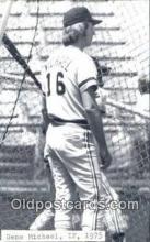 spo070469 - Gene Michael Base Ball Postcard Detroit Tigers Baseball Postcard Post Card