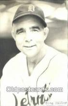 spo070490 - Bing Miller Base Ball Postcard Detroit Tigers Baseball Postcard Post Card