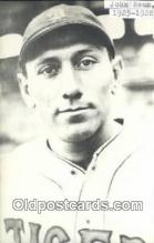 spo070524 - John Neun Base Ball Postcard Detroit Tigers Baseball Postcard Post Card