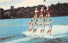 Human Pyramid, The Tommy Bartlett Skiers, ARCO Water Ski Show