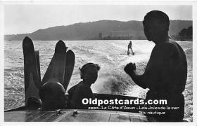 La Cote dAzur Les Joies de la mer Ski Nautique