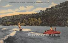 Surfboard Riding on Lake Taneycomo