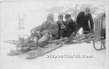 Guys on Sled