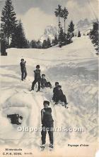 Winterstudie, Paysage dhiver