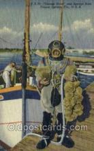 spo100005 - Tarpon Springs, FL USA Diving, Old Vintage Antique Postcard Post Cards