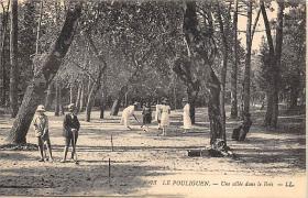 spoA008014 - Le Pouliguen, Croquet Postcard