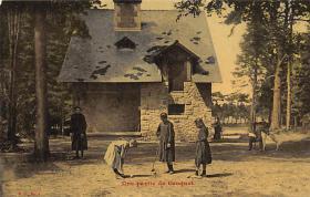 spoA008016 - Une Partie de Croquet Postcard