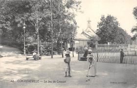 spoA008031 - Le Jeu de Croquet Postcard