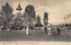 spoA008048 - Vichy, Le Golf Croquet Postcard