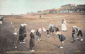 spoA008050 - Le Croquet Postcard