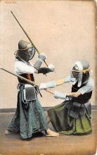 spof011017 - Fencing, Fence, Old Vintage Antique Postcard Post Cards