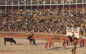 spof017017 - Corrida De Tores Bullfighting Tarjeta Postal Postcard