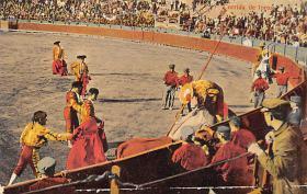 spof017018 - Corrida De Tores Bullfighting Tarjeta Postal Postcard