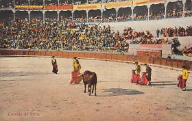 spof017019 - Corrida De Tores Bullfighting Tarjeta Postal Postcard