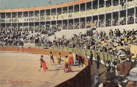 spof017021 - Corrida De Tores Bullfighting Tarjeta Postal Postcard