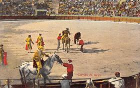 spof017022 - Corrida De Tores Bullfighting Tarjeta Postal Postcard
