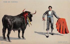 spof017039 - Pase De Tanteo Bullfighting Postcard