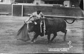 spof017048 - Frenasconla Muleta Bullfighting Postcard Tarjeta Postal