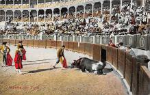 spof017109 - Muerte del Toro Bullfighting Postcard Postcards
