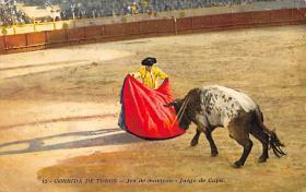 spof017111 - Corrida De Tores Bullfighting Postcard